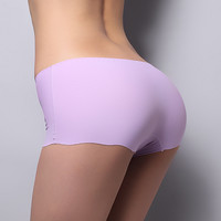 Panties For Women Underwear Seamless Panties Boyshort Ice Silk Material