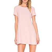 Winthrop Dress in Dusty Rose
