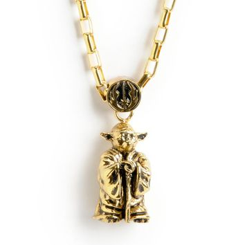 Han Cholo x Star Wars Yoda Pendant Necklace