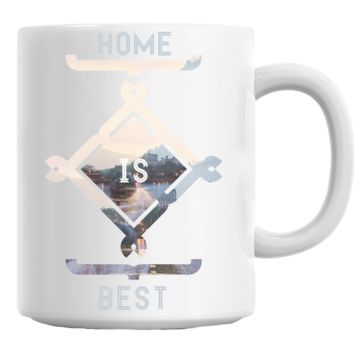 Home Is Best Mug