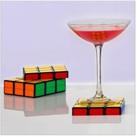 Rubik's Coasters set  of 6