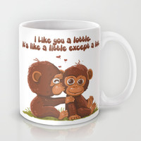 Like you a Lottle Monkeys Mug by Lottle