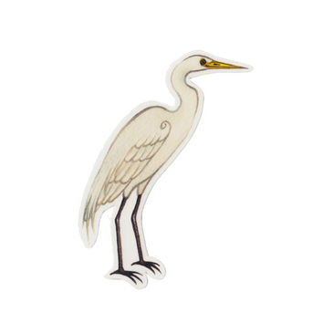 Great Egret Bird Magnet