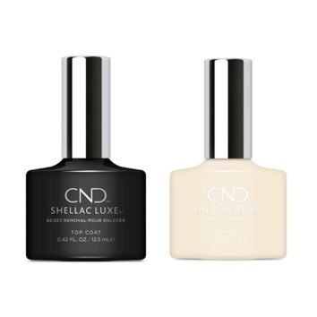 CND - Shellac Luxe - Top Coat & Veiled 0.42 oz - #320
