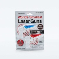 Worlds Smallest Laser Guns - Urban Outfitters