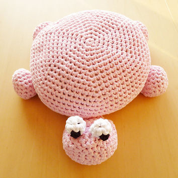 PDF Pattern Crochet Turtle Pillow Pouf Ottoman Floor Cushion - English (US terms) and Dutch version available - Instant Download