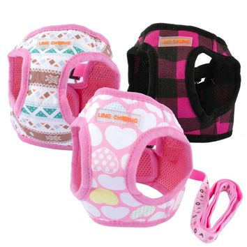 Cute  Puppy Dog Harness and Walking Leads
