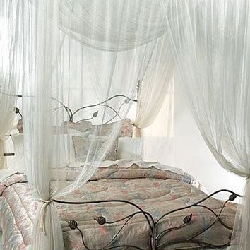 Majesty Ivory Large Bed Canopy