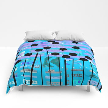 Color square 08 Comforters by Zia