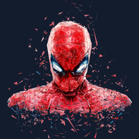 The Human Spider Art Print by Tracie Andrews | Society6