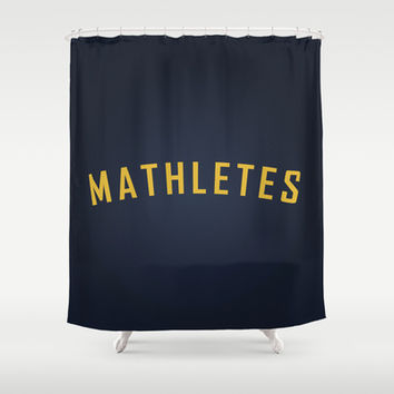 Mathletes - Mean Girls movie Shower Curtain by AllieR