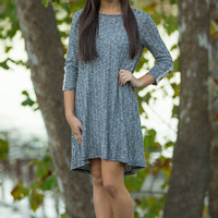Chill Time Sweater Tunic-Black