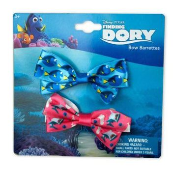 H.E.R Finding Dory Hair Bows Set of 2 (Available in a pack of 24)