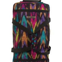 Billabong Women's Travelin Vacay Roller Travel Bag Multi One