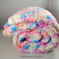 Feathery Soft Baby Blanket on Etsy - Photo Prop Blanket