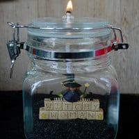 Witchy Woman Halloween candle for Fall and Halloween decor