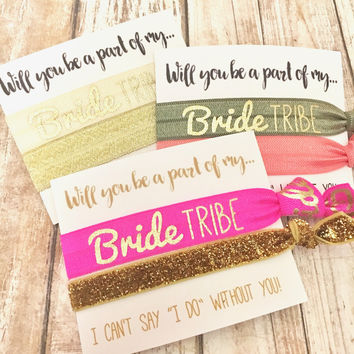 Bridesmaid Proposal | Will you be a part of my Bride Tribe| I can't say I Do withou you