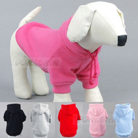 Cotton Fashionable Pet Dog Clothes Winter Hooded Coat For Dogs Pet Clothing Dog sweater Size XS~M = 1929723332