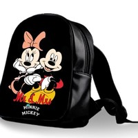 New Mickey Mouse Dan Minnie Mouse Best Design Backpack School Bag High Quality