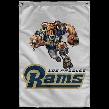 Los Angeles Rams Player SUBWF Sublimated Wall Flag