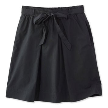 Women's Signature Poplin Skirt | Free Shipping at L.L.Bean