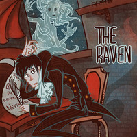 The Raven Edgar Allen Poe lit poster by theGorgonist on Etsy