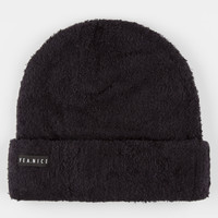 Yea.Nice Madison Fold Beanie Black One Size For Men 26395410001
