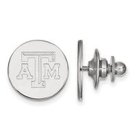 Texas A&M Sterling Silver Lapel Pin