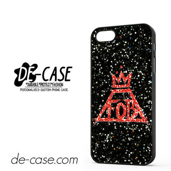 Fall Out Boy Sparkle DEAL-4064 Apple Phonecase Cover For Iphone 5 / Iphone 5S