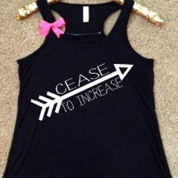 WWOW - Cease to Increase - Ruffles with Love - Inspirational Shirt - RWL