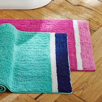 Color Block Bath Mat