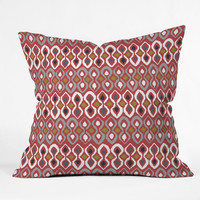 Sharon Turner Chilli Pestle Throw Pillow