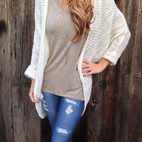 Cozy Up Cardigan - FINAL SALE