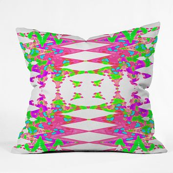 Ingrid Padilla Color Wave Throw Pillow