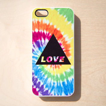 Tie Dye iPhone 5 4 4S Case iPhone 4 Case Print by afterimages