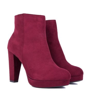 DONWTOWN TIME HEELED BOOTIES - What's New