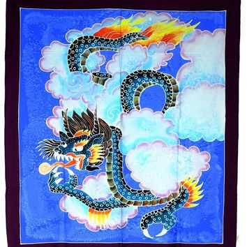 Dragon Hand Batiked Wall Hangings