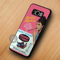 Audrey Hepburn Breakfast At Tiffany's - Samsung Galaxy S8 S7 S6 Note 8 Cases & Covers #SamsungS8