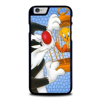 sylvester and tweety looney tunes iphone 6 6s case cover  number 1