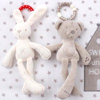 Baby Crib Stroller Toy Rabbit Bunny Bear