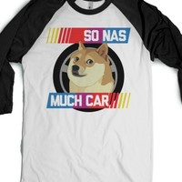 White/Black T-Shirt | Funny Doge Shirts