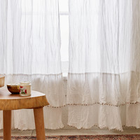 Azmera Crinkle Curtain | Urban Outfitters