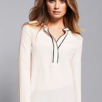 Tipped Silk Popover