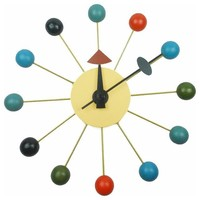 Color Bubble Wall Clock