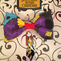 Sally - Tim Burton's Nightmare Before Christmas Inspired Bow