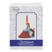 Disney Store Cinderella Limited Christmas Sketchbook Ornament New with Box