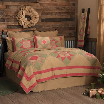 Dolly Star King Quilt
