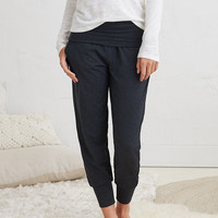 Aerie Real Soft® Jogger , Charcoal Heather