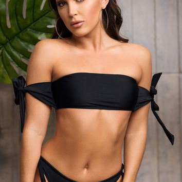 Deserted Paradise Two Piece Swimsuit - Black