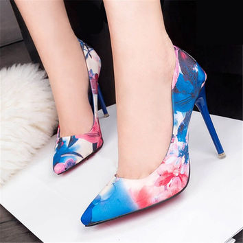 Fashion Sexy High Heel Shoes Women Pumps wedding shoes